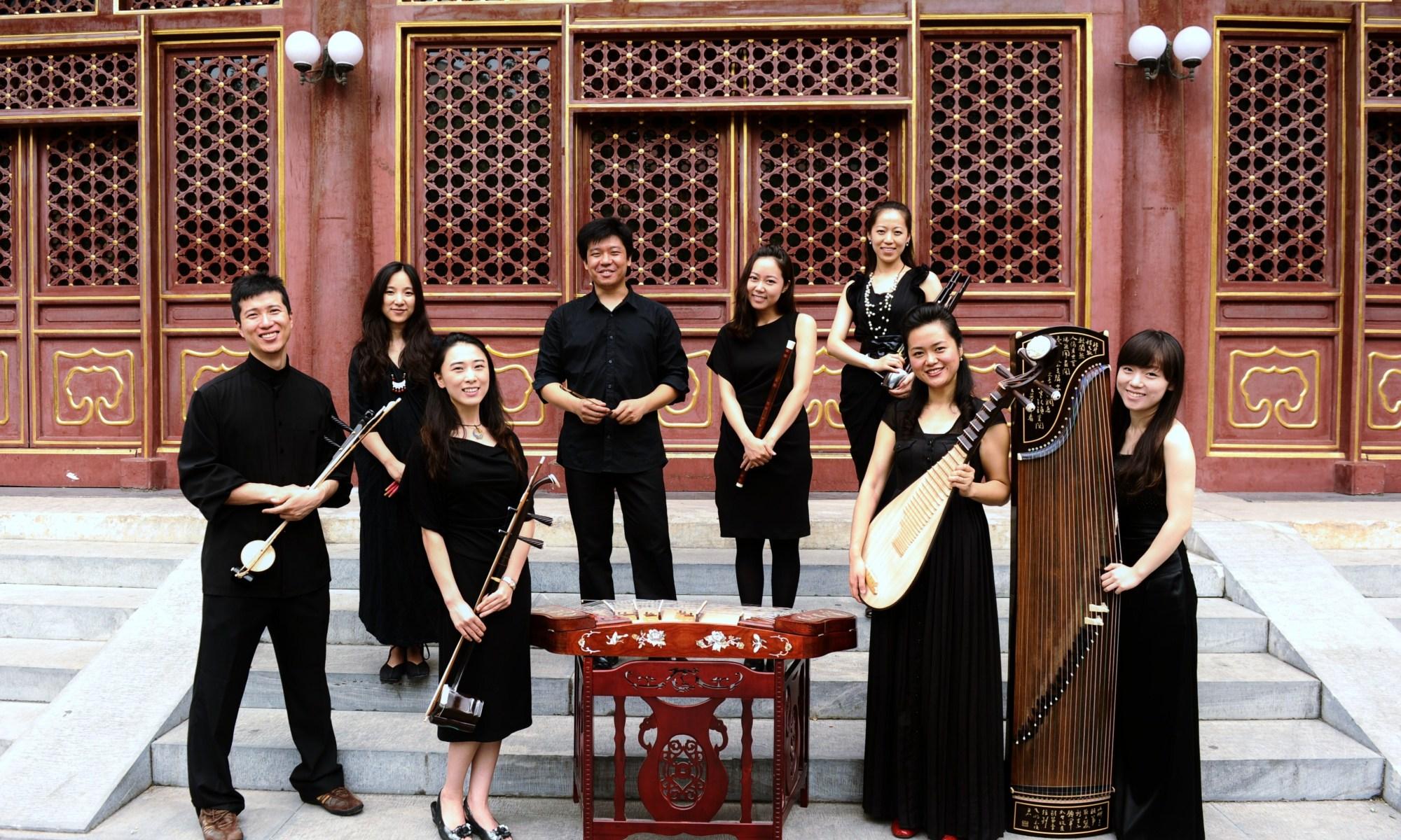 Integrantes del ensamble ConTemplo Beijing .