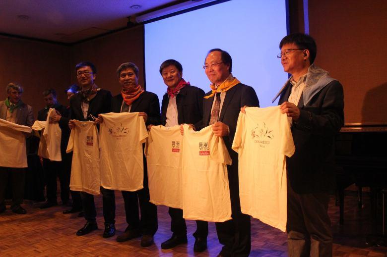 La delegación del Conservatorio Central de Música de China fue recibida en la Facultad de Música de la UNAM/Fotografía Cecilia Morales.