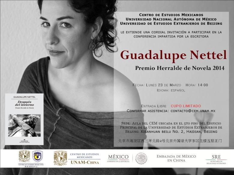 Poster promocional de la conferencia