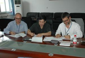 Firma de convenio marco con la Universidad de Pekín
