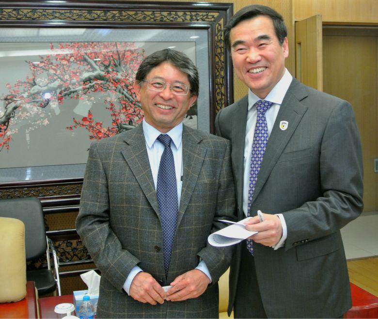 Dr Ken Oyama Dr Yan Guo hua
