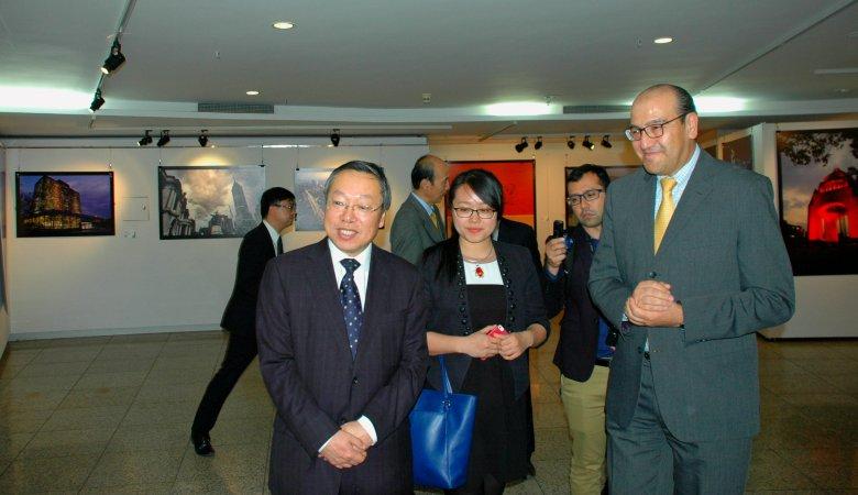 Ministros China y Mexico