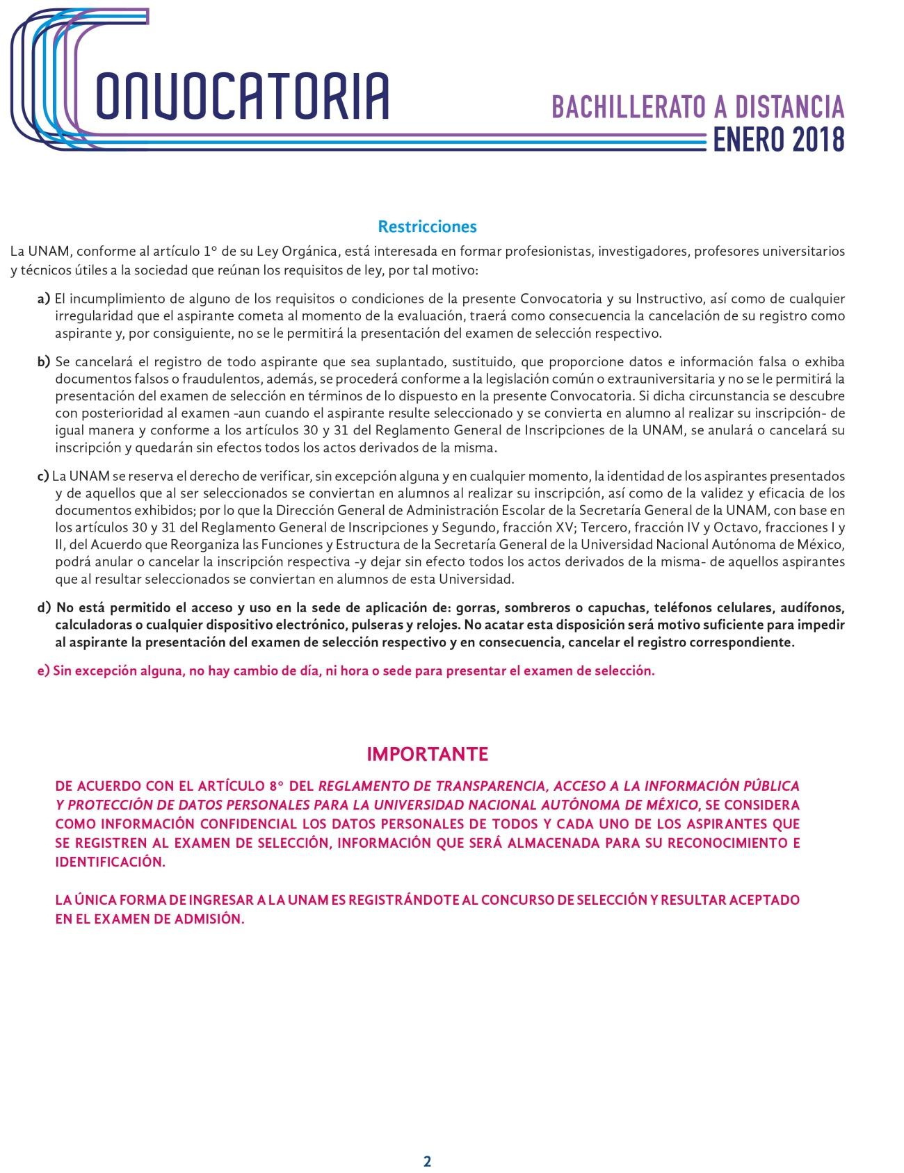 convocatoria Bach a Dist Enero 2018 11 julio 17-2