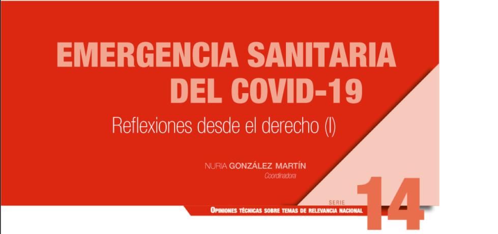 Libro Emergencia Sanitaria Covid19 Instituto de Juridicas
