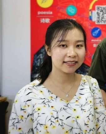 Yang Qian, alumna de la Universidad de Estudios Extranjeros de Beijing